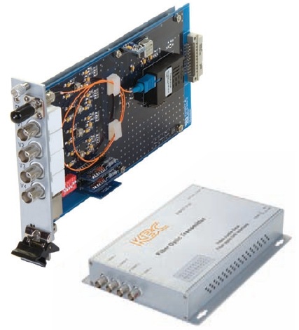 Four Channel Video Multiplexer, Point-to-Point Transmission