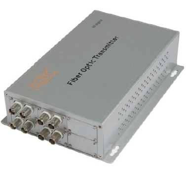 Eight Channel Video Multiplexer, Point-to-Point Transmission