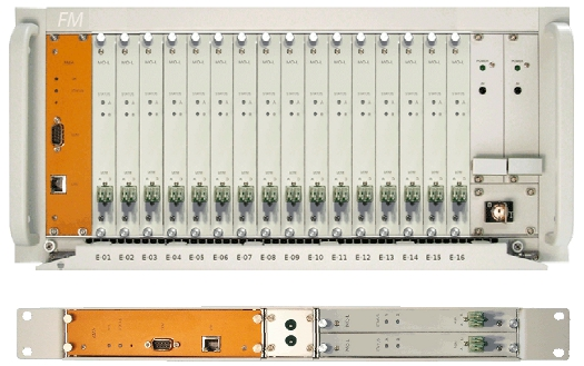Optical Fibre Monitoring System