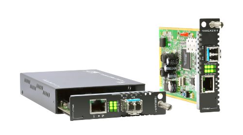 OAM/IP-Based Managed GE Media Converter