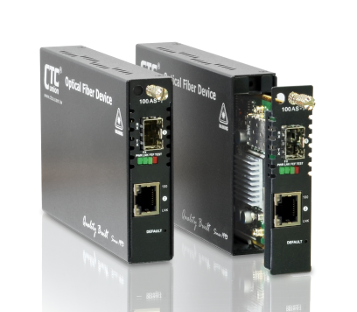 10/100Base-TX to 100Base-FX OAM/IP-Based Managed FE Media Converter