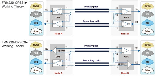 Fibre Optical Protection Switches