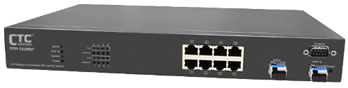 GSW-3208M8P 8 Port L2 Ethernet Managed PoE Switch