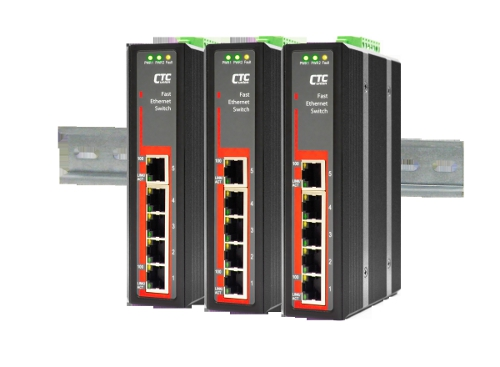 5-Port 10/100Base-T(X) Fast Ethernet Switch