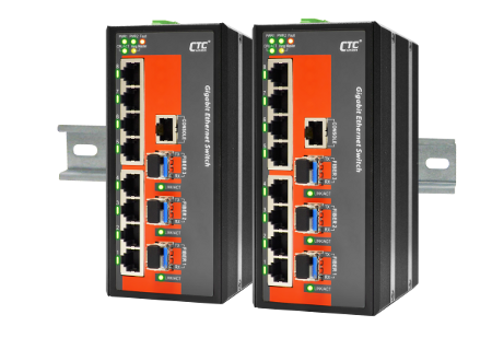 Industrial Managed GbE Switch