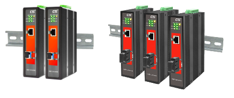 PoE Ethernet Managed Converters
