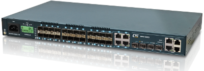 L2+ Gigabit Carrier Ethernet Switch with Sync. Ethernet