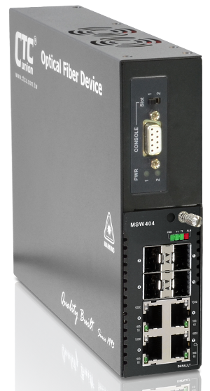 FRM220-MSW404 OAM Managed Carrier Ethernet Switch (NID)