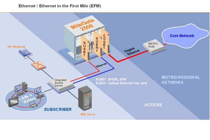 Ethernet / Ethernet in the First Mile (EFM)