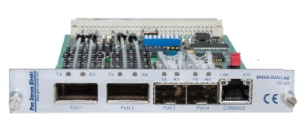 10G 2R XFP Dual 10.3 Gbps Ethernet transponder