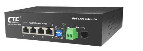VDTU2A-104-4PH Ethernet Extender with PoE